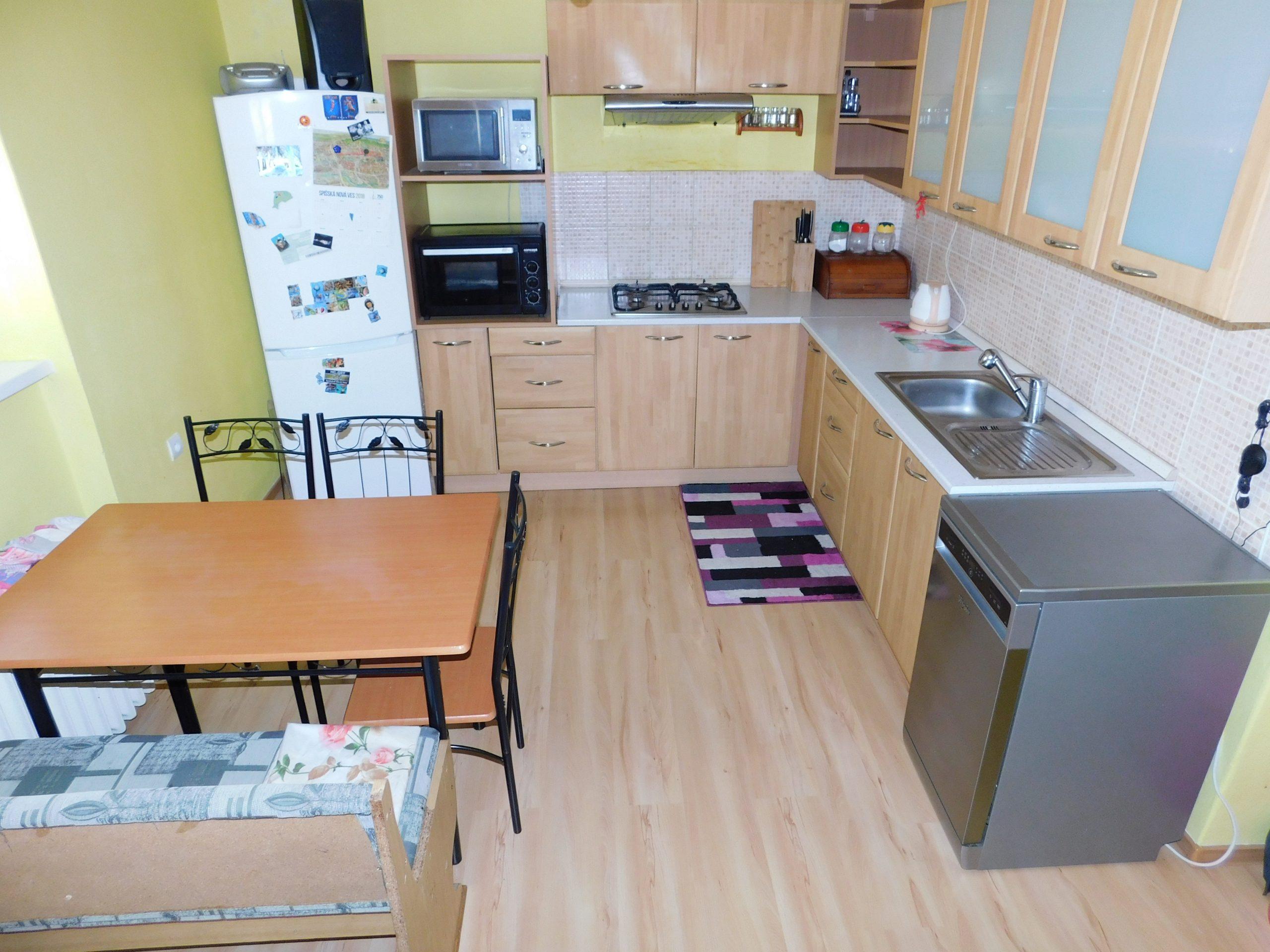 PREDANÉ – 2 izbový byt, centrum, Spišská Nová Ves